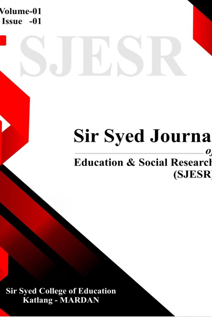 Sir Syed Journal of Education & Social Research (SJESR)